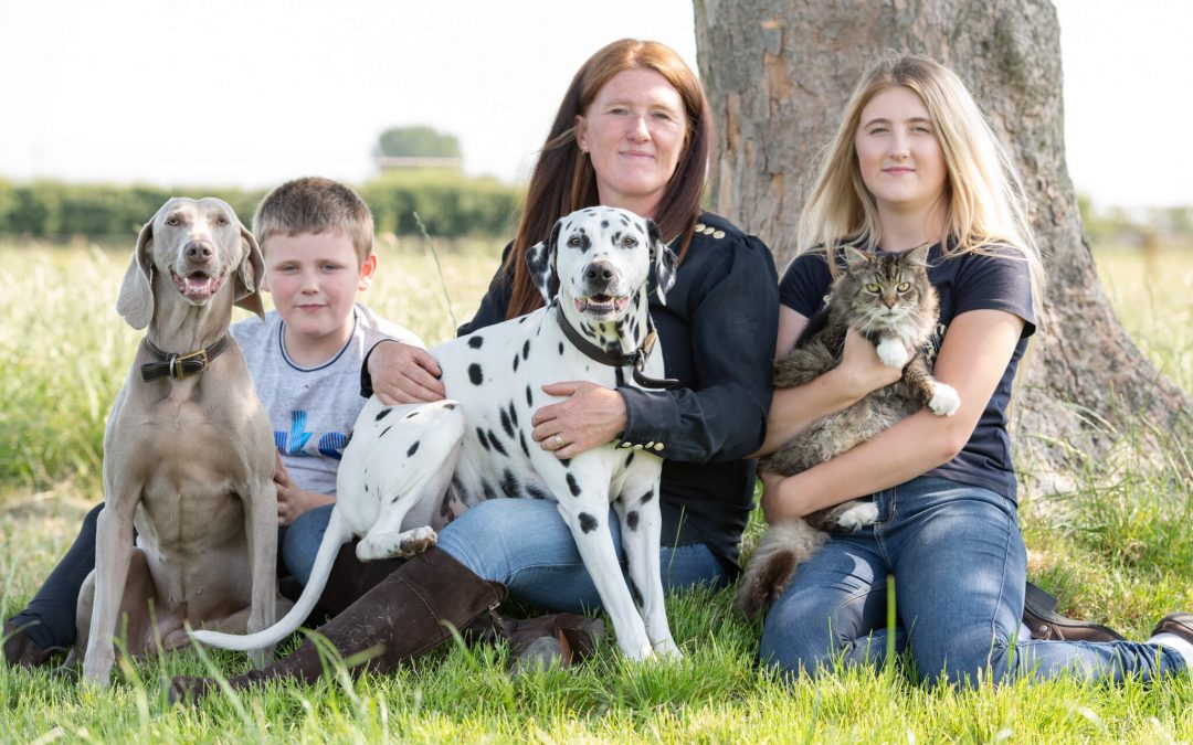 Lancashire Photoshoot: Philippa and Family